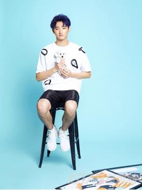 Dorayaki品牌个性休闲短裤