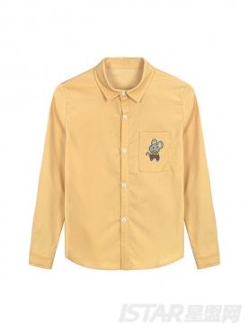 MR.HU品牌马卡龙嫩色童装衬衫