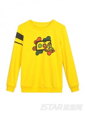 MR.HU品牌保暖休闲儿童时尚卫衣
