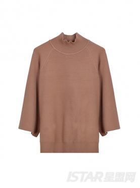 宽松毛衣开叉优雅流苏针织舒适保暖套装裙