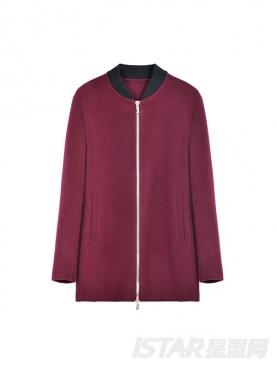 中长款双面呢时尚保暖大衣