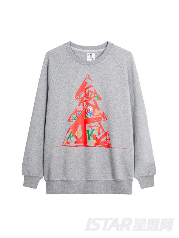 K哥字恋系列圣诞款定制款卫衣