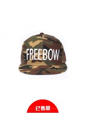 FREEBOW迷彩棒球帽