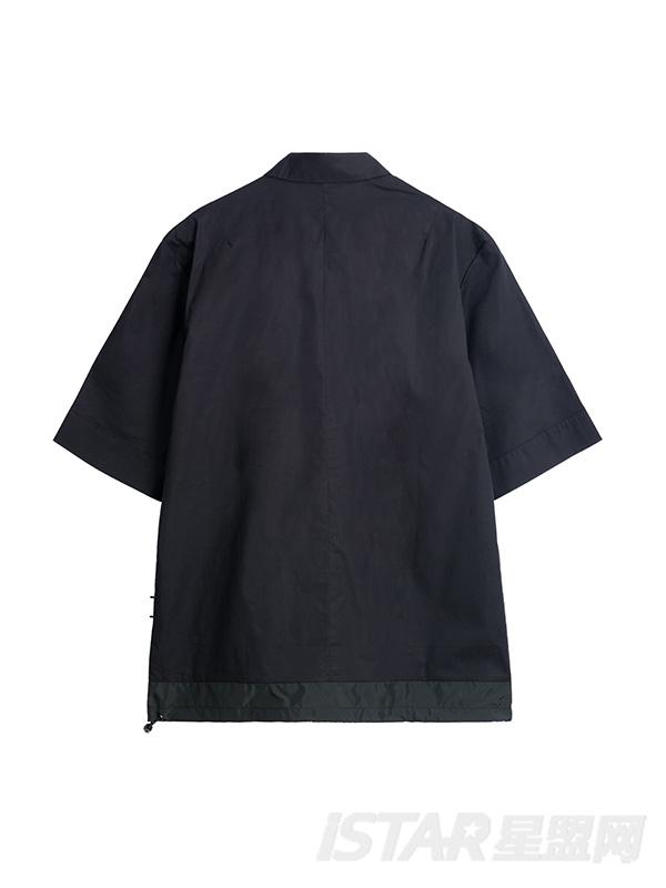 胸口个性印花POLO衫