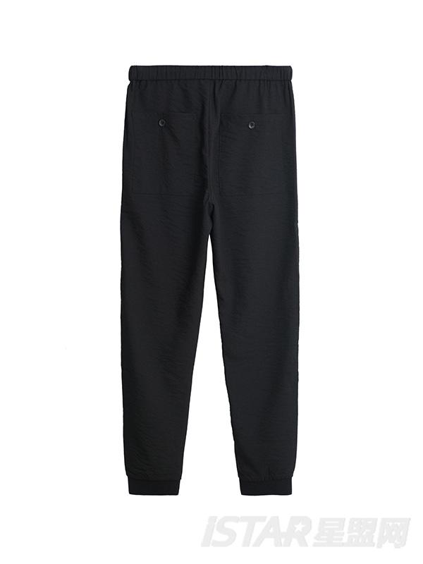 九分锥形裤