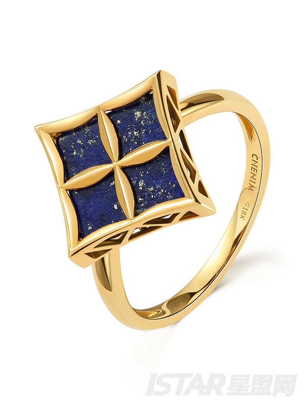 SU-STYLE品牌幸运星系列珠宝戒指