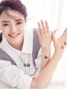 Su Style品牌七星瓢虫公主系列瓢虫形珠宝项链