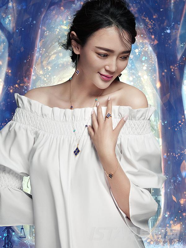 SU-STYLE品牌幸运星系列珠宝耳饰