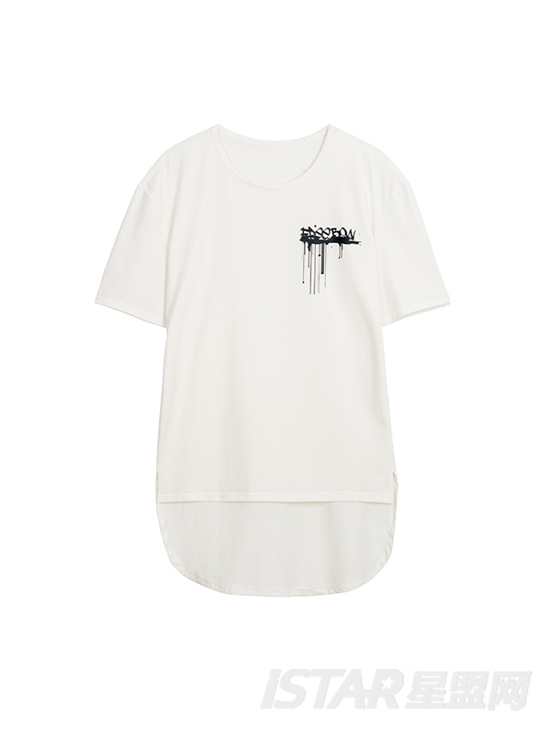 FREEBOW品牌定制不规则字母T恤