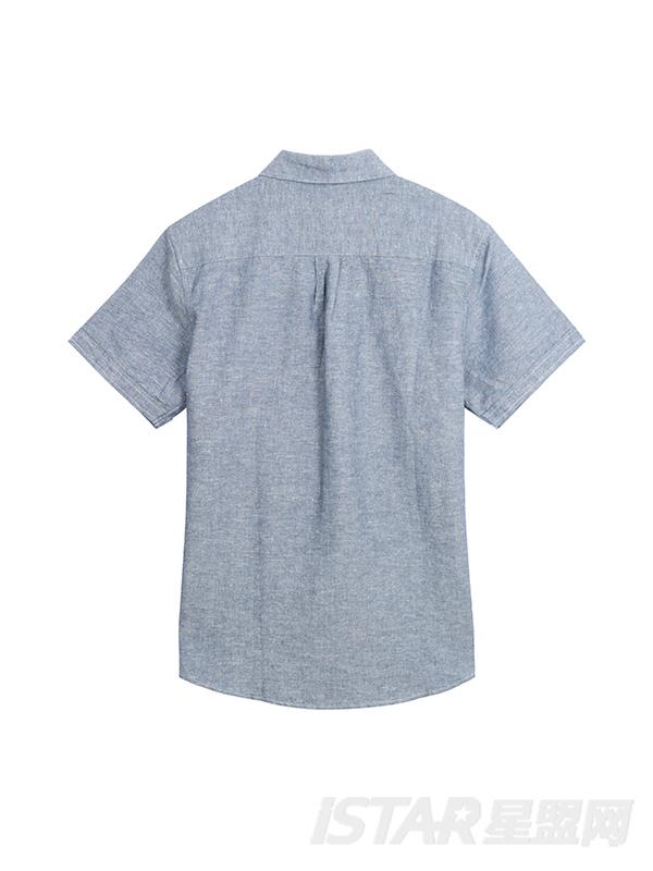 灰色个性设计衬衫