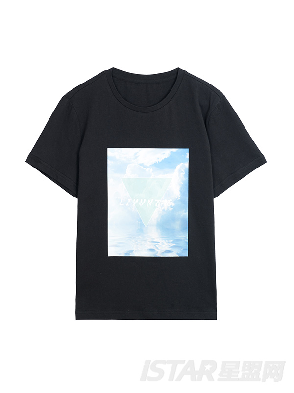 天空印花图案设计