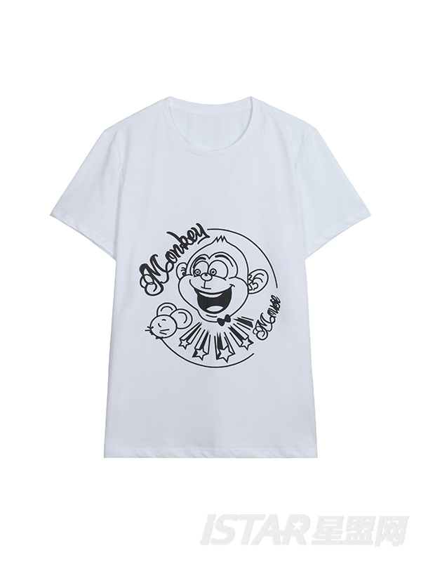 MR.HU品牌亲子装成人T恤