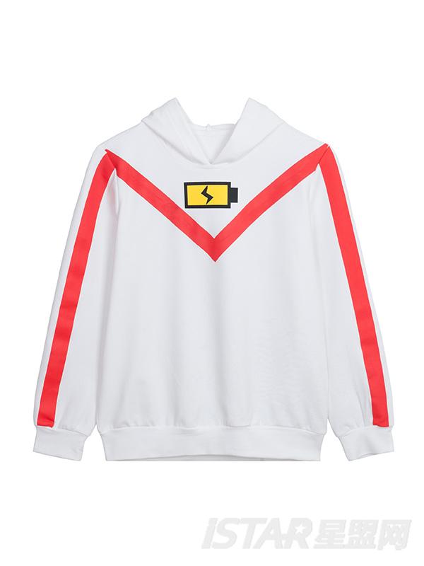 MR.HU品牌条纹袖POLO衫