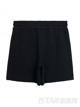 MR.HU品牌条纹饰边短裤