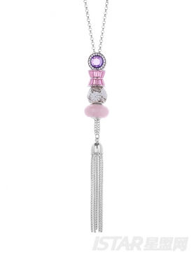 Su Style&晶石灵自我•旖旎光影吊坠项链