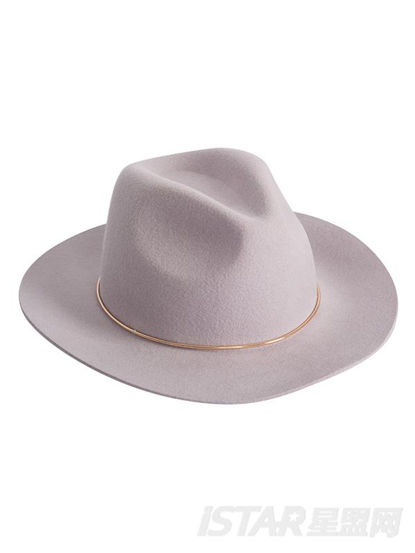 金属环宽沿帽