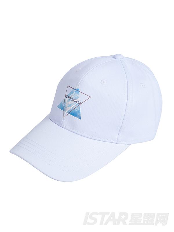 印花鸭舌帽