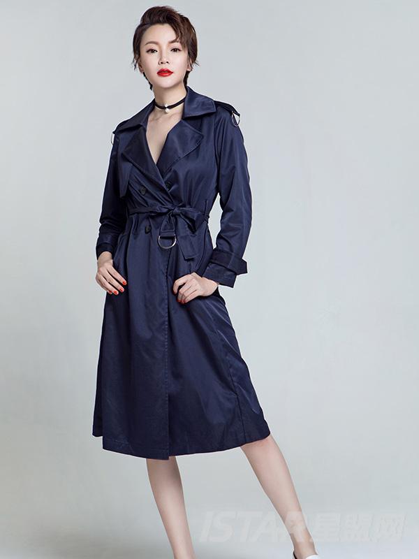 时尚经典百搭风衣外套