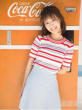 @高容方 优雅条纹舒适针织纯棉套装