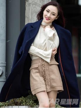 时尚欧美风个性贴布装饰中长款舒适秋冬外套