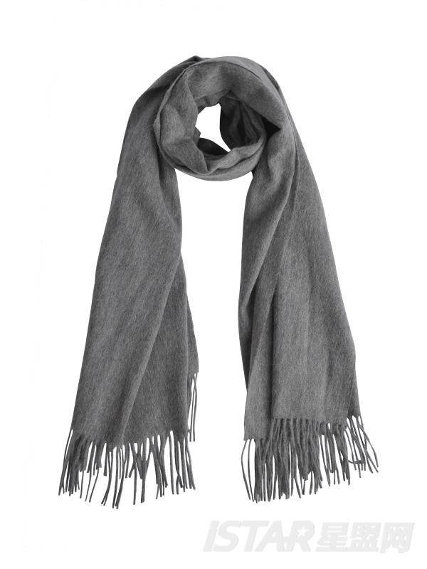 纯色羊绒围巾