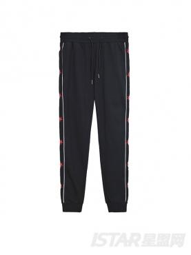 条纹星星装饰潮流运动休闲裤