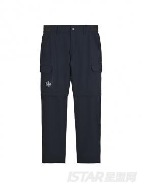 个性大工口袋装饰宽松休闲长裤