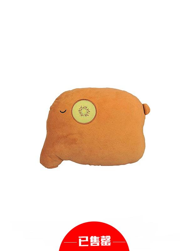 超萌水果象车用颈枕