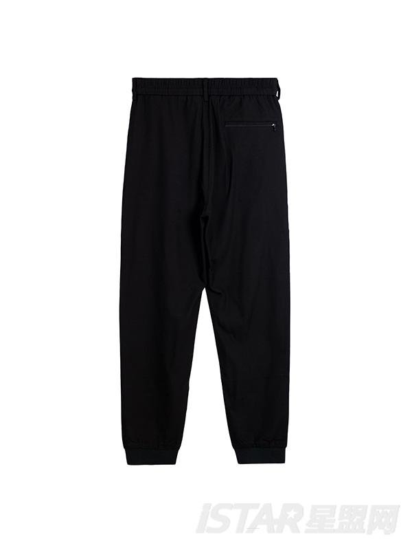 黑色休闲裤