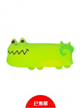 呆萌系可爱鳄鱼车用颈枕