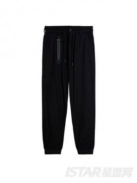 酷黑潮范儿时尚小脚休闲裤