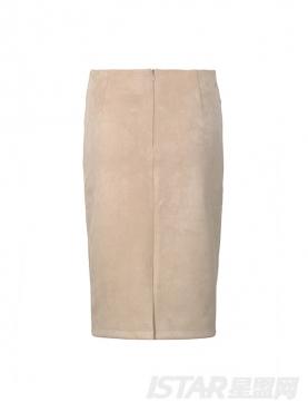 优雅名媛蕾丝烫钻套头衫上衣+高腰包臀半身裙两件套装