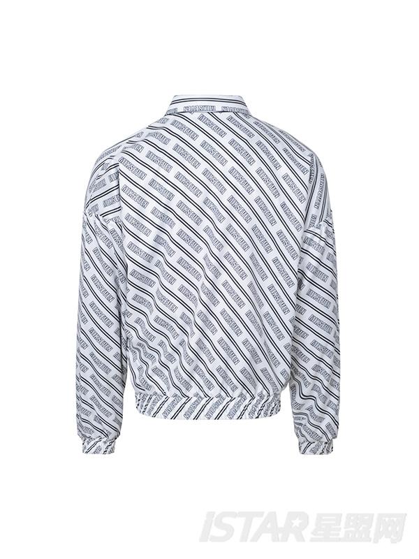 抽象几何廓形外套
