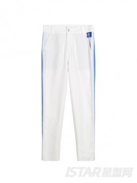 新款侧缝撞色休闲纯棉舒适九分裤