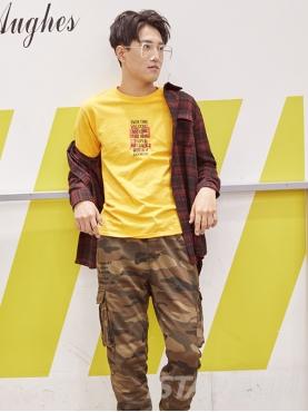 个性迷彩时尚大口袋设计舒适收脚休闲长裤