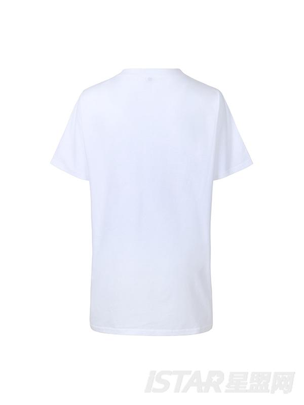 V字短袖T恤