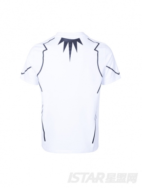 街头印花元素经典黑、白色短袖纯棉休闲T恤