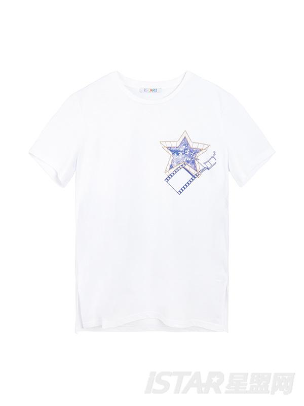 赵天宇签名T恤