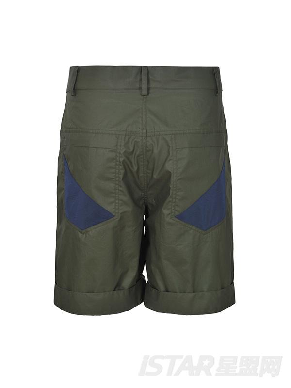 口袋休闲男短裤