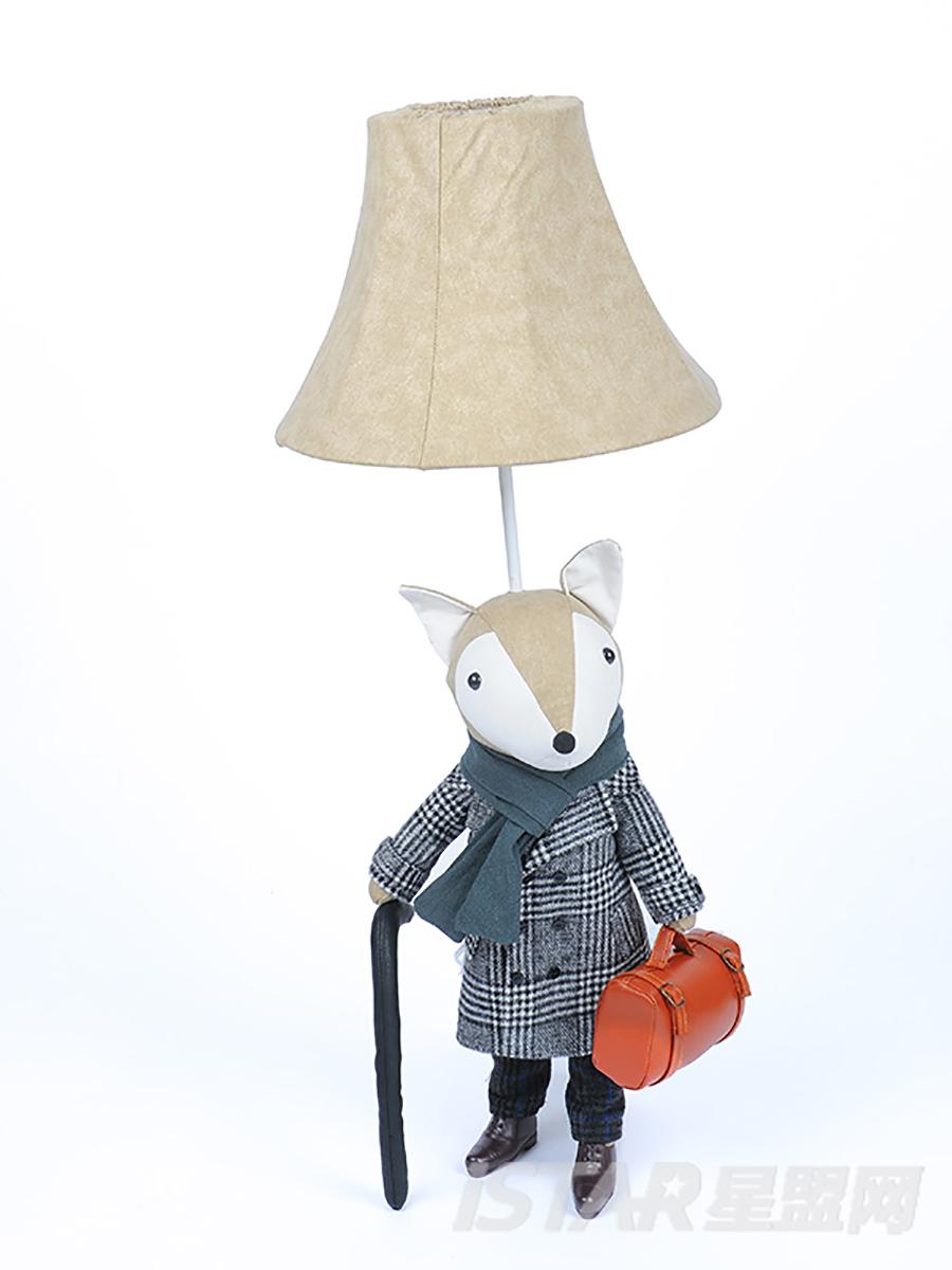 狐狸绅士台灯