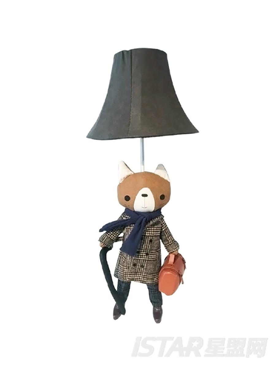 猫咪绅士台灯