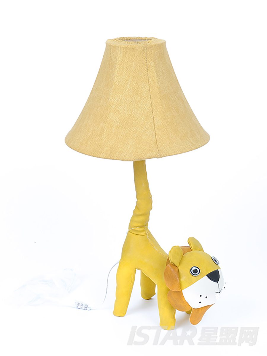 皮革狮子尾巴灯