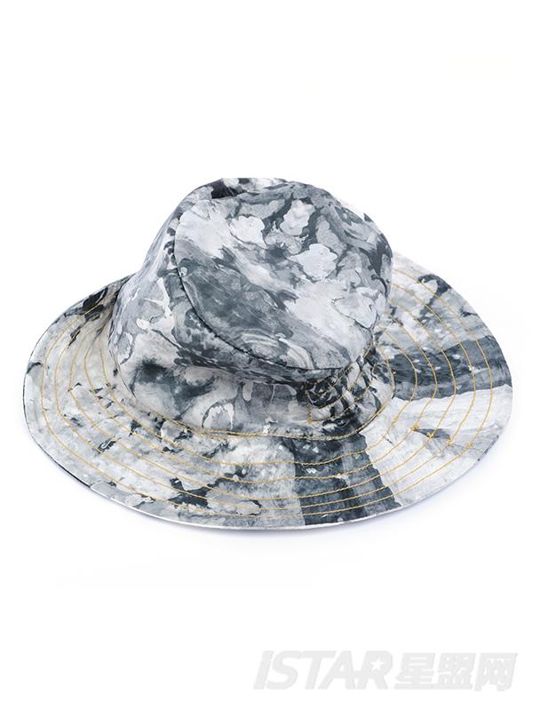 抽象迷彩户外休闲渔夫帽