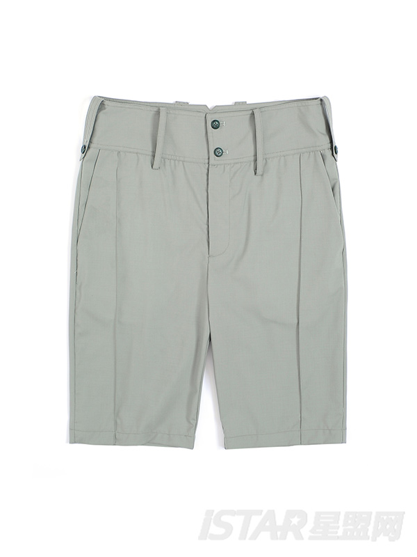 简洁纯色西装五分裤短裤