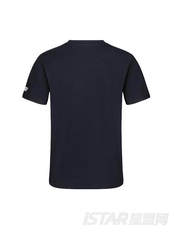 动物印花休闲针织成人短袖T恤衫