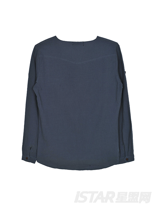 亚麻长袖衬衫