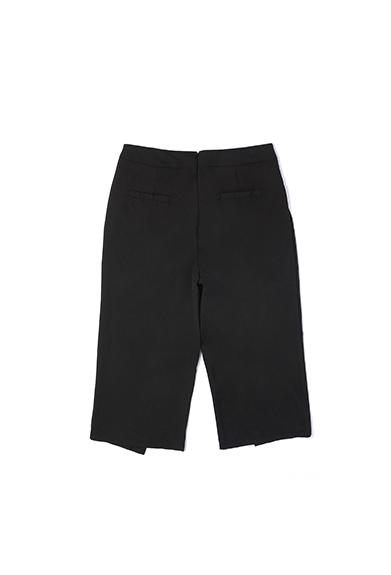 个性七分阔腿裤