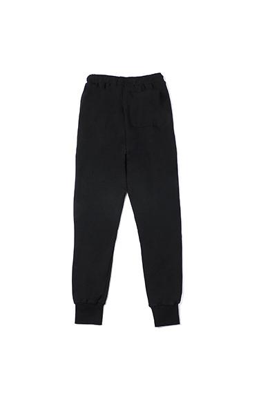 白条纹休闲运动裤
