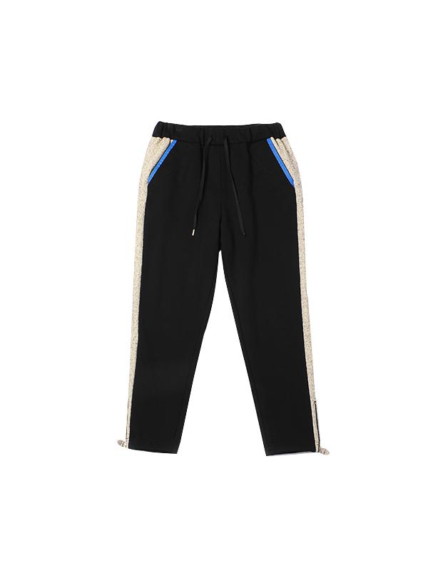 时尚撞色运动休闲裤