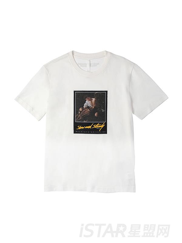 人像个性印花T恤